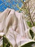 雙層蕾絲太陽傘防曬防紫外線網紗繡花雨傘