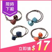 韓國糖果磨砂橡皮色髮繩(1入)愛心/方塊 【小三美日】款式顏色隨機出貨 原價$29