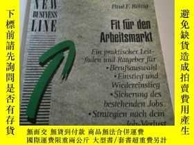 二手書博民逛書店Fit罕見fur den Arbeitsmarkt (外文)Y2