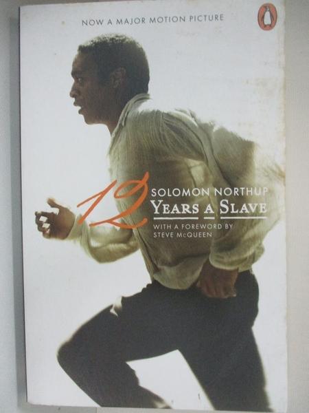 【書寶二手書T6/原文小說_BUI】Twelve Years a Slave_Solomon Northup