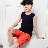 夏季兒童純棉背心男童薄款打底休閒小背心中大童寶寶夏季小孩吊帶洛麗的雜貨鋪