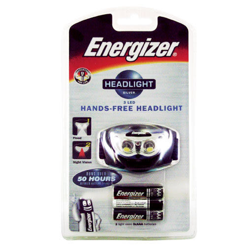 Energizer勁量 3LED 頭燈 B-FHD33A