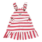 OSHKOSH 吊帶裙 紅橫條 | 女寶寶洋裝(嬰幼兒/兒童/小孩)