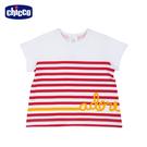 chicco-TO BE-印條紋短袖上衣