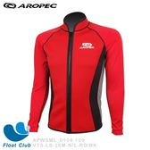 【AROPEC】 男款1.5mm 萊卡游泳夾克外套 (紅黑) -  平衡 VTS-LS-26M-N/L-RD/BK