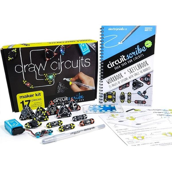 Circuit Scribe 手繪電路筆創客套件2.0 - 基礎版Basic kit