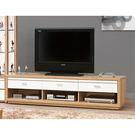 【森可家居】米堤原木色6尺電視櫃 7ZX369-4 長櫃 木紋質感 日式 日系 無印風 北歐風