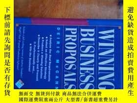 二手書博民逛書店WINNING罕見BUSINESS PROPOSALS:DEIR