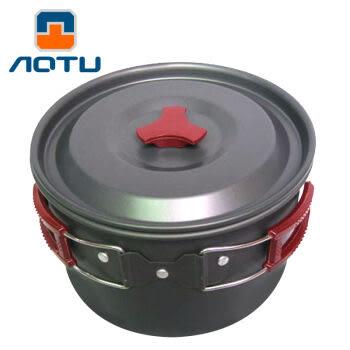 [UF72戶外露營]瑞士奧途系列 特大號單人套鍋 鋁合金鍋具 野外炊具 AL500-1