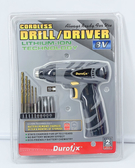 好市多 Durofix  8v鋰電池電鑽 8伏特 充電 電鑽 鑽頭 組合