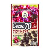 正榮果實Veil蔓越莓乾可可70%巧克力立袋 【康是美】