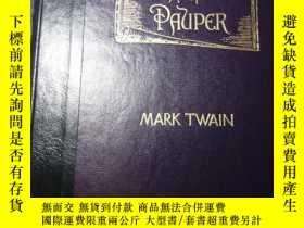 二手書博民逛書店精美插圖版罕見馬克吐溫的王子與貧兒 The prince and the pauper: A tale for y
