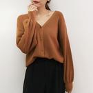 超柔軟泡泡袖針織外套-M-Rainbow【A999031】