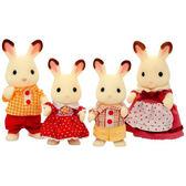 森林家族 人偶 可可兔家庭組