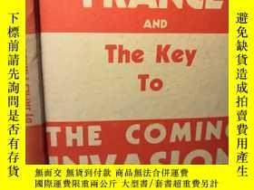 二手書博民逛書店1940年罕見THE COMING INVASION OF GERMANY 插圖版 19X13CMY27765