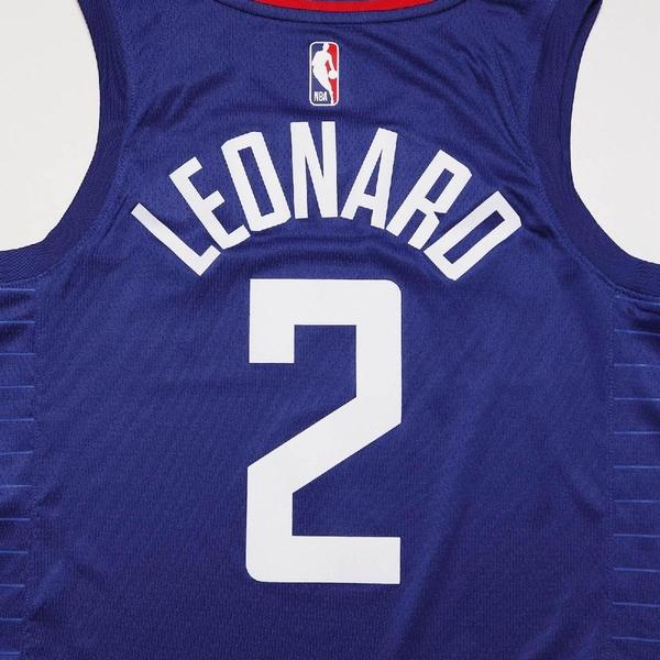 Nike 球衣 Kawhi Leonard Clippers Statement Edition 2020 Jordan NBA Swingman 黑 藍 男款 快艇隊【ACS】 CW3668-402