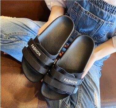厚底拖鞋 拖鞋女高跟外穿時尚夏季2020新款百搭鬆糕厚底內增高ins網紅涼拖 艾維朵
