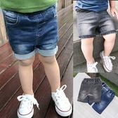 寶寶牛仔短褲男嬰兒童短褲子夏季薄款外穿褲子百搭1-3歲 森活雜貨