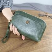 手拿包 新款多功能拉鏈包大容量手拿包歐美長款錢包零錢包女士手機包 瑪麗蘇