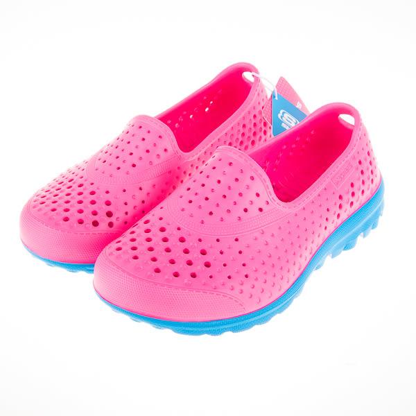 Skechers  兒童洞洞 娃娃鞋-粉/藍 86622LHPBL