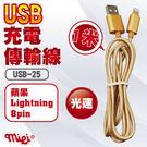 USB-25 IPOD/IPHONE 傳輸連接線