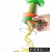 創意廚師工具 擺盤 工具三件套器 螺旋刨絲器黃瓜土豆切長絲器 -好家驛站