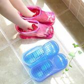 泡腳神器足浴桶洗腳家用網紅加厚足浴盆長筒靴按摩穴位泡腳鞋男女  ATF 極有家