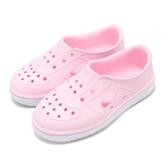 Nike 休閒鞋 Foam Force 1 TD 粉紅 白 Air Force 免綁鞋帶 氣孔設計 童鞋 小童鞋【PUMP306】 AQ2442-600