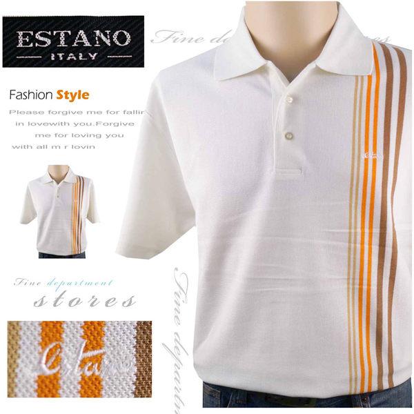 【大盤大】ESTANO 男士 夏 翻領棉衫 有領POLO衫 L號 情人節禮物 父親節休閒衫 全新 七夕 世大運