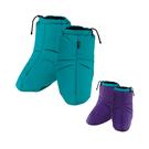 [Mont-Bell] Exceloft Foot Warmer 保暖鞋套 藍綠/M (1108890BASM-M)