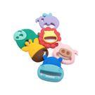 【任二入95折】Marcus & Marcus - 動物樂園感官啟發固齒器玩具