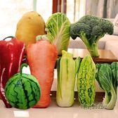 仿真白菜抱枕蔬菜抱枕靠墊創意食物西蘭花抱枕毛絨玩具生日禮物女「時尚彩虹屋」