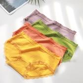 純棉女士內褲抗菌石墨烯日系學生少女全棉檔中腰三角短褲夏季薄款