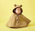 採用保暖舒適的毛絨製成,質地柔軟,防風保暖斗篷外套