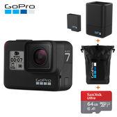 GoPro HERO7 BLACK 全方位攝影機 (台閔公司貨) 限時活動到6/27日止