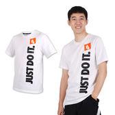 NIKE 男短袖T恤(慢跑 路跑 免運 ≡排汗專家≡
