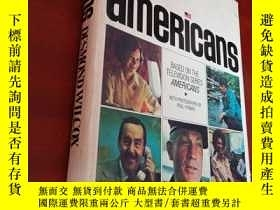 二手書博民逛書店americans罕見Desmond Wilcox Based on the Television Series奇