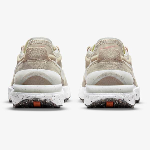 Nike Waffle One Crater SE 女鞋 休閒 復古 小Sacai 半透明 麂皮 奶茶 粉【運動世界】DJ9640-200