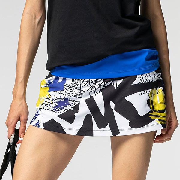 數位印花短褲裙 TA747(含安全底褲設計/商品不含配件) -百貨專櫃品牌 TOUCH AERO 瑜珈服有氧服韻律服