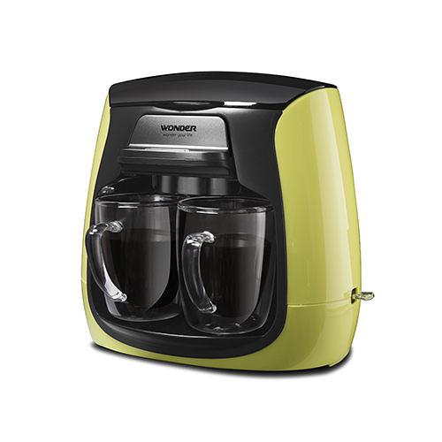 旺德WONDER  WH-L03D 雙層玻璃杯雙人咖啡機 WHL03D 蘋果綠