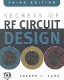 二手書博民逛書店 《Secrets of RF Circuit Design》 R2Y ISBN:0071370676│Mcgraw-hill