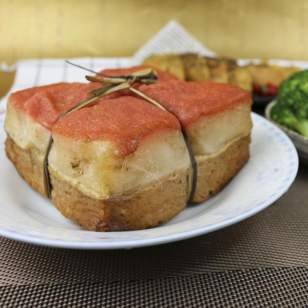 【高興宴】素人上菜-富氣大方綁繩爌肉600g(蛋奶素)(適合5-7人份)