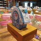 存錢筒 歐式小房子鬧鐘365天存錢罐兒童創意男女孩儲蓄罐聖誕生日禮物 2色