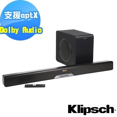 全新商品送PHILIPS收音機【美國Klipsch】2.1聲道單件式環繞SoundBar RSB-11