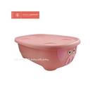 美國 PRINCE LIONHEART 收納箱浴盆(附蓋及浴網)-小豬[衛立兒生活館]