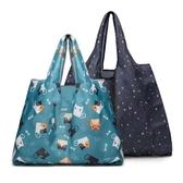 2個裝 超市購物袋環保袋手提袋