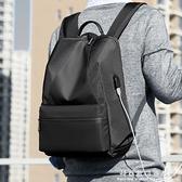 時尚輕便旅行包雙肩包男女同款背包書包學生電腦包運動包 科炫數位