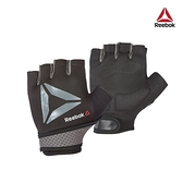 Reebok - 防滑短指訓練手套(黑)(M)