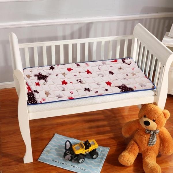 床墊 【可定制】法蘭絨兒童幼兒園午睡毛毯墊被兒童床褥子水洗床墊【快速出貨】