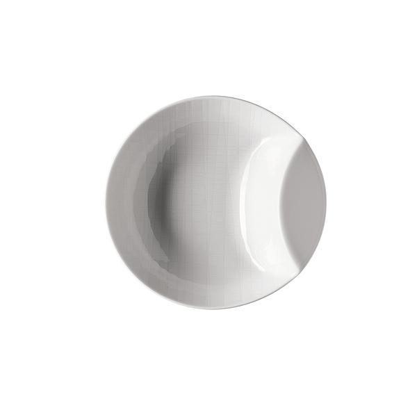 德國 Rosenthal Mesh造型圓深盤-白